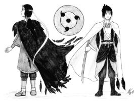 Itachi Sasuke - Ondatra King by LittleElvert
