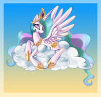 Princess Celestia :: A Sweet Day by PauuhAnthoTheCat