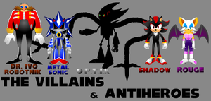 Sonic The Movie. The Villains by BoozermaN