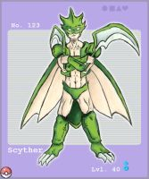 Scyther by LM-Shade