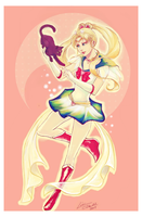 Sailor Moon by Linnpuzzle