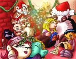 Panda Days Christmas by scatteredcomics