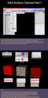 DAZ Surface Tool Tutorial 1 by CyprithTheCat