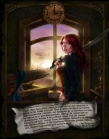 CC (1st Ed) - Back Cover Illustration by PennyGaffPublishing