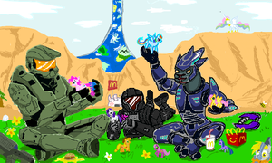 Halo: Friendship Evolved by Auraion