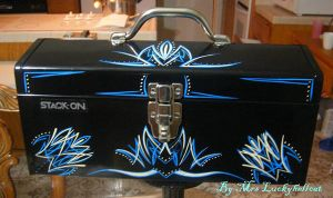 PINSTRIPED TOOL BOX by luckyhellcat