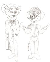 GMD: Optimist And Cynic -- WIP by MouseAvenger