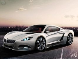 BMW CSX Concept by RS--Design