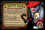 A CLOWN CAROL Postcard Back by BrianABernhard
