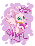 You're An Angel! MarineAngemon Valentine by Ambunny