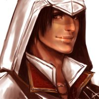 Here's an Ezio by Shiyu-Kang