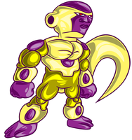 Gold Frieza by greenate