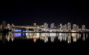 Vancouver by Night HDR by JasonFilsinger