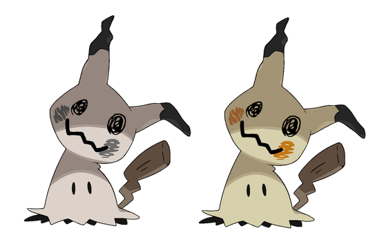 Mimikyu Base by 6FigersLoverEver