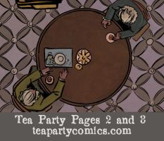 Tea Party: An American Story, Page 2 and 3 by Theamat