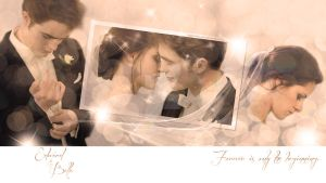 Edward and Bella - Wedding Kiss v.2 by oXGeRRyBeRRyXo