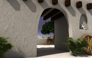 Exterior arch by capsat
