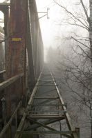 foggy bridge by werneri