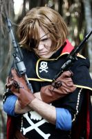 Captain Harlock 1 by UbersCosplay