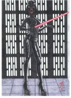 MRS VADER by StonedSmeagol