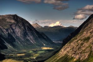 Rough side of Norway II by Safraba