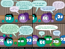 SC918 - Classic Joey is Angry by simpleCOMICS