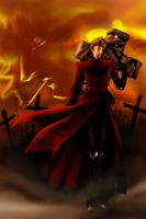 Trigun Crimson Land by kheelan