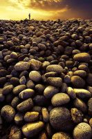 Rollerstones by spitting
