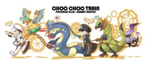 PKMN: Choo Choo TRAIN by Mira-i
