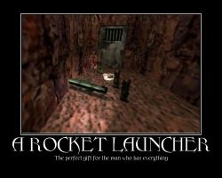 Rocket Laucher Motivator by Captainface