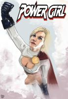 POWER GIRL by orabich