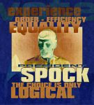 Vote Spock for President by Ptrope