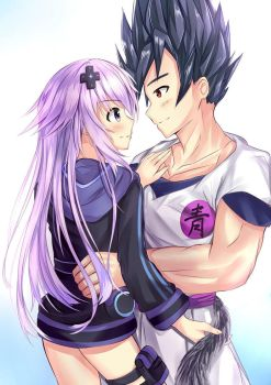 Blue and Nep by Blue-Eyes3000