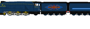 Cast Arrow Co. A4 pacific by BenDragon1337