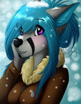 Winter Girl by WolfRoxy