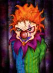 DaRk CLOWN (colour) by THEtrueJOKER