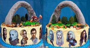 Defiance Cake by studioofmm