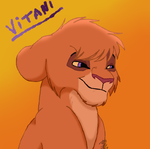 Cub Vitani by SpeedDrawStarlight13