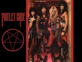 Motley Crue Wallpaper by SavanasArt