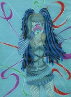 Goddess of Cyber Goth Tanit IsIs by DoubleDArtistry