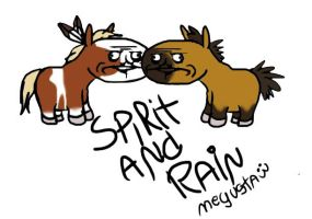 Spirit and Rain Moment ME GUSTA by Ameida-Horses