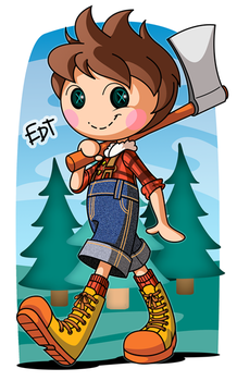 I'm A Lumberjack by thweatted