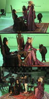 Once upon a time fun with Regina and Maleficent 1 by Hellraiser-89
