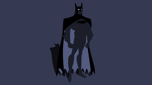 Minimal Batman Wallpaper by Cheetashock