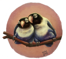 Lovebirds by Iraville
