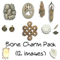 Bone Charm Pack by Sage-Dreamer