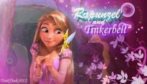 Rapunzel and Tinkerbell by TinkTink1012