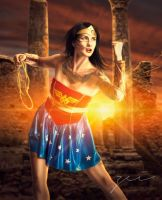 wonder woman by zeiruch