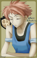 .'.Hikaru Hitachiin.'. - Colored Lineart by Wolven-Sorceress