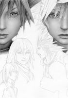 Kingdom Hearts WIP 4 by Cataclysm-X
